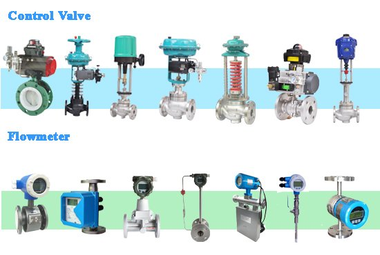 Control-valve-and-flow-meter