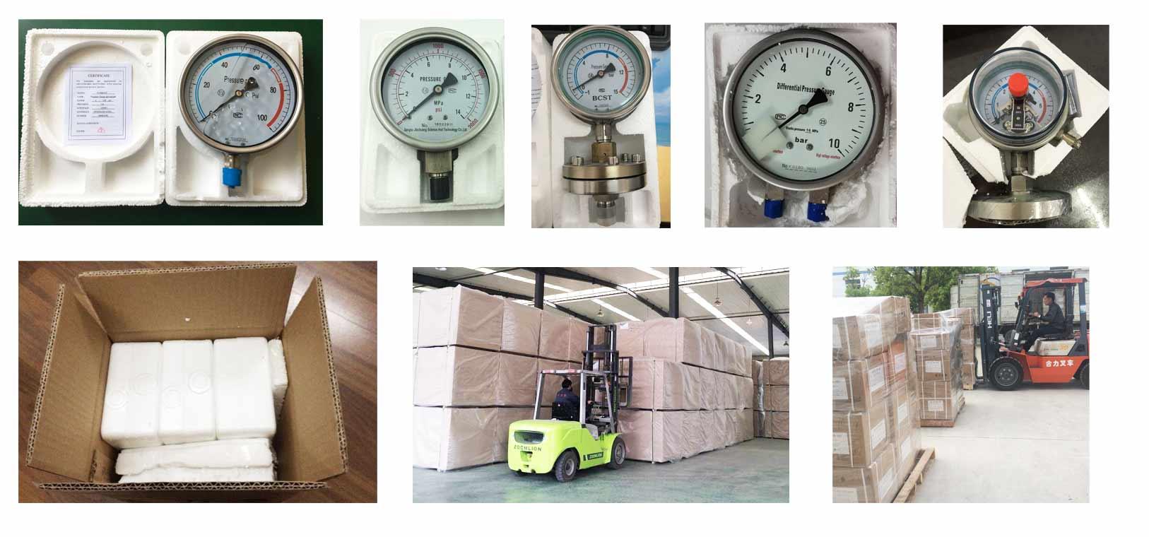 Pressure-gauge-delivery