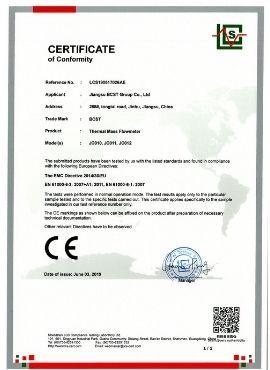 CE-thermal mass gas flowmeter-BCST