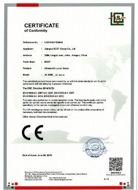 CE-ultrasonic level transmitter-BCST