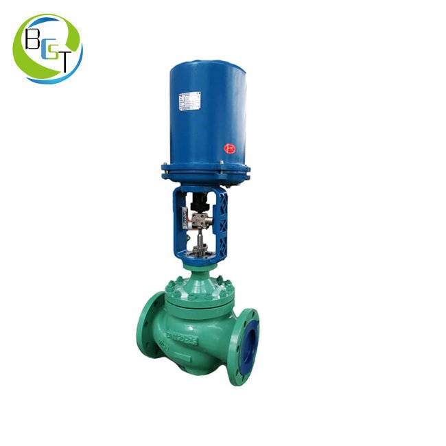 DHTS Electric Single Seated Globe Control Valve 4