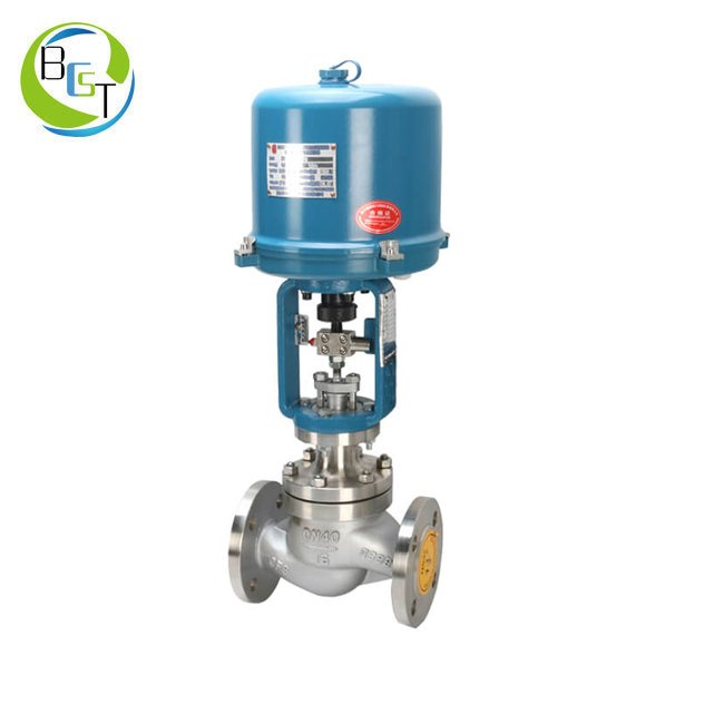 DHTS Electric Single Seated Globe Control Valve