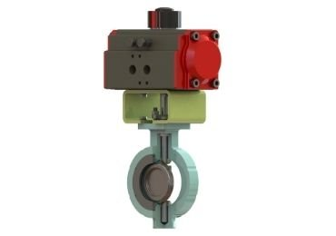 Double Eccentric butterly valve