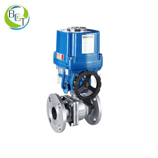 Electric Actuated Ball Valve with Explosion Proof Actuator 1