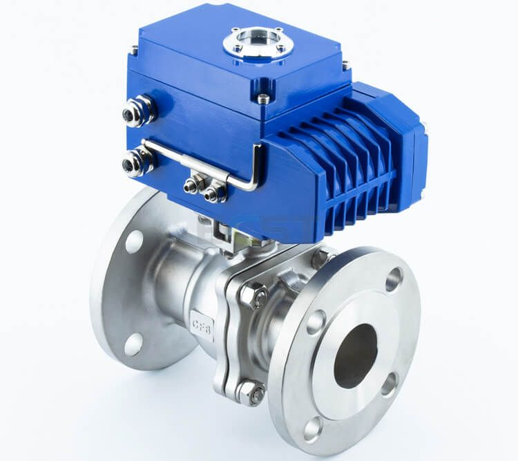 Electric Actuated Ball Valve with Explosion Proof Actuator 2