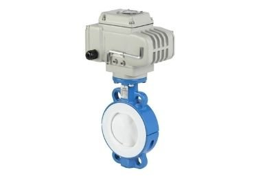 Electric Soft Seal Butterfly Valve