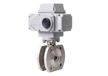 Electric Wafer Ball Valve