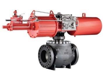 Emergency-pneumatic-ball-shutdown-valve