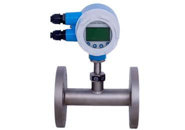 Flange connection Thermal mass flowmeter