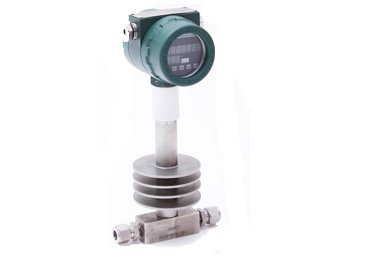 High-temperature-thermal-mass-flowmeter