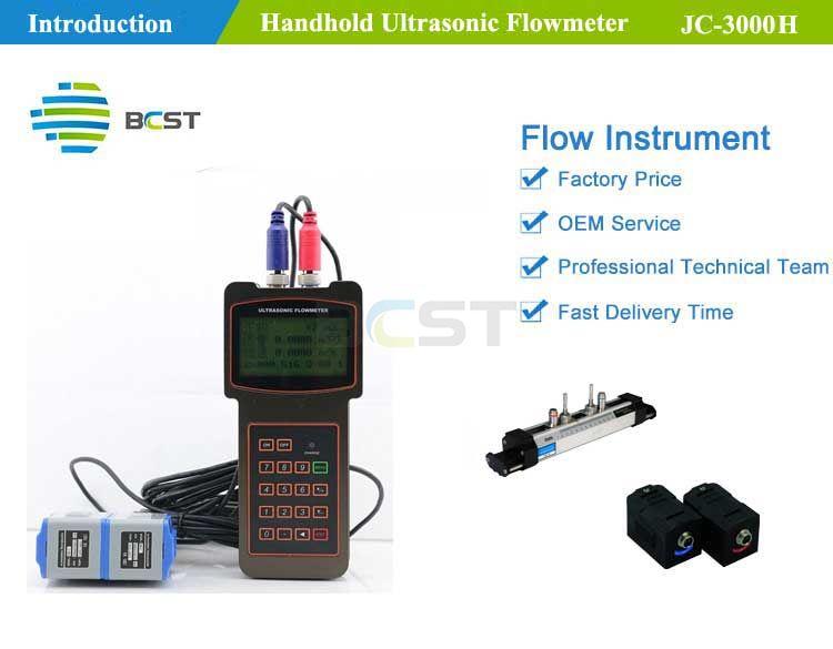 JC-3000H Handheld Ultrasonic Flowmeter 4