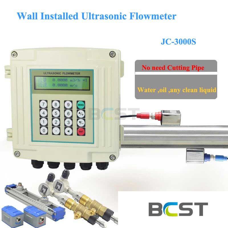 JC-3000S Wall Installed Ultrasonic Flow Meter 3