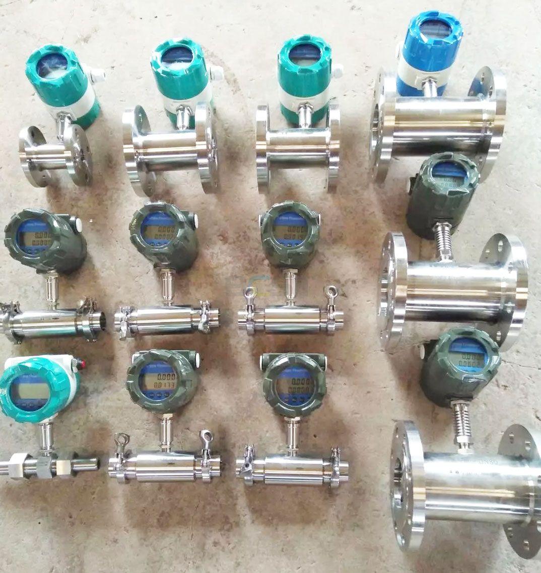 JC060 Liquid Turbine Flow Meter with pulse output 4