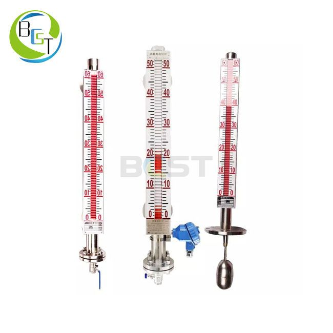 JC56L Stainless Steel Magnetic Level Gauge