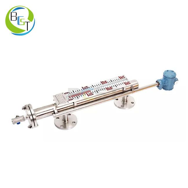 JC56L Stainless Steel Magnetic Level Gauge 2