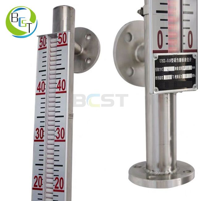 JC56L Stainless Steel Magnetic Level Gauge 4