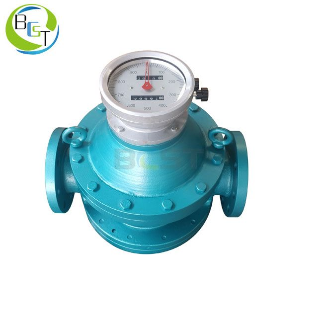 JCLC Oval Gear Flowmeter with LCD Display 2