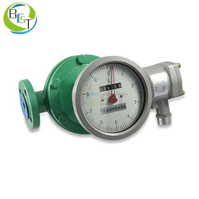 JCLC Oval Gear Flowmeter with LCD Display 3