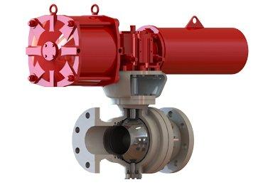 Metal-Seal-Pneumatic-ball-valve