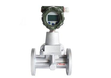 Natural gas vortex mass flowmeter