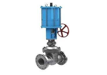 Piston onoff gate valve
