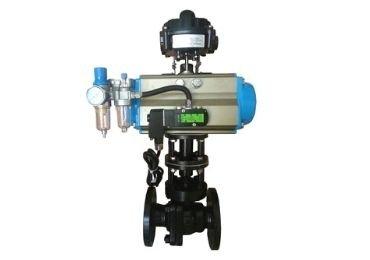 Pneumatic onoff ball valve