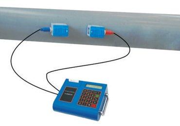 Portable-Ultrasonic-flowmeter