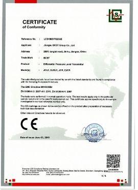 Pressure Level Transmitter-CE -BCST