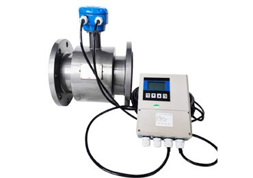 Remote-magnetic-flowmeter