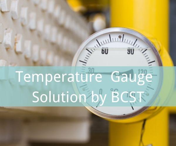 Temperature gauge solution