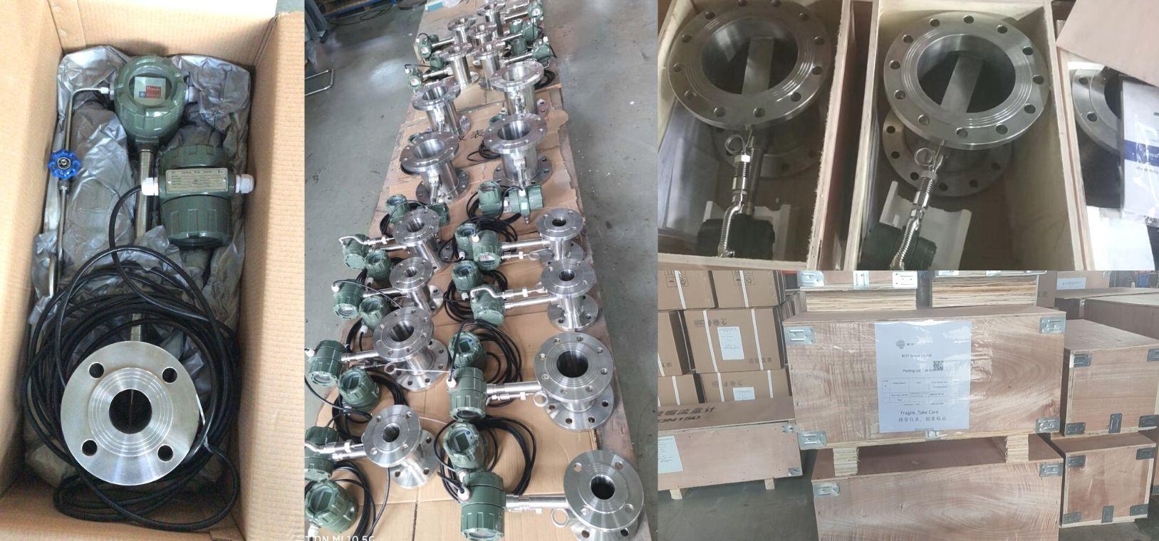 Vortex Flowmeter-packing
