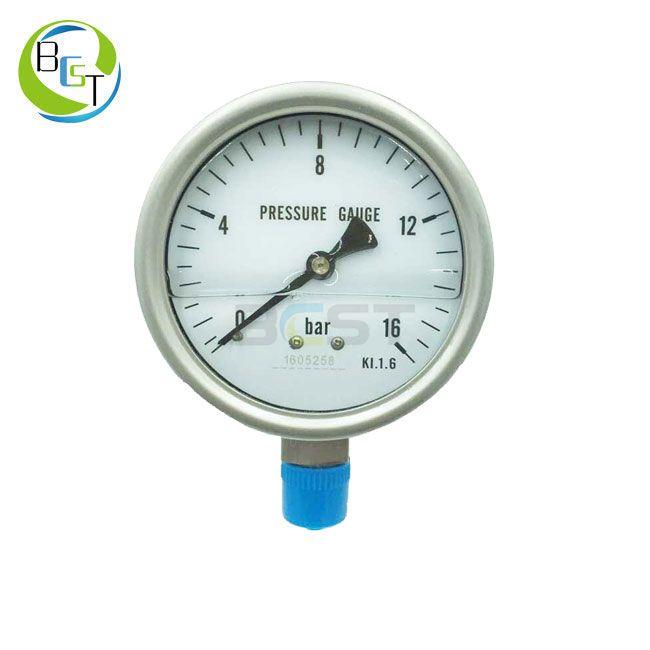 YBW Full Stainless Steel Pressure Gauge 2