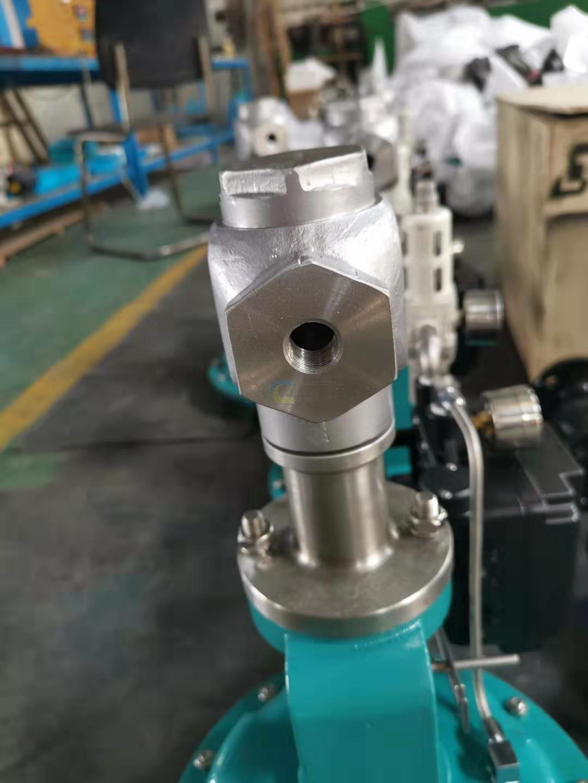 ZJHY Pneumatic small flow control valve 2