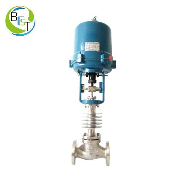 ZWZP Electric High Temperature Steam Globe Control Valve 1