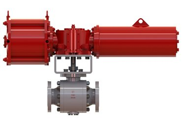 high-pressure-pneumatic-ball-valve