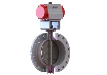 low-load-pneumatic-buttefly-valve