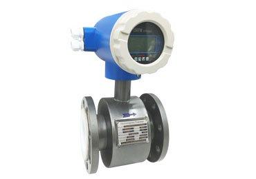 magnetic volumetric flow meter