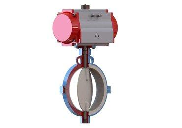 plastic-liner-pneumatic-butterfly-valve