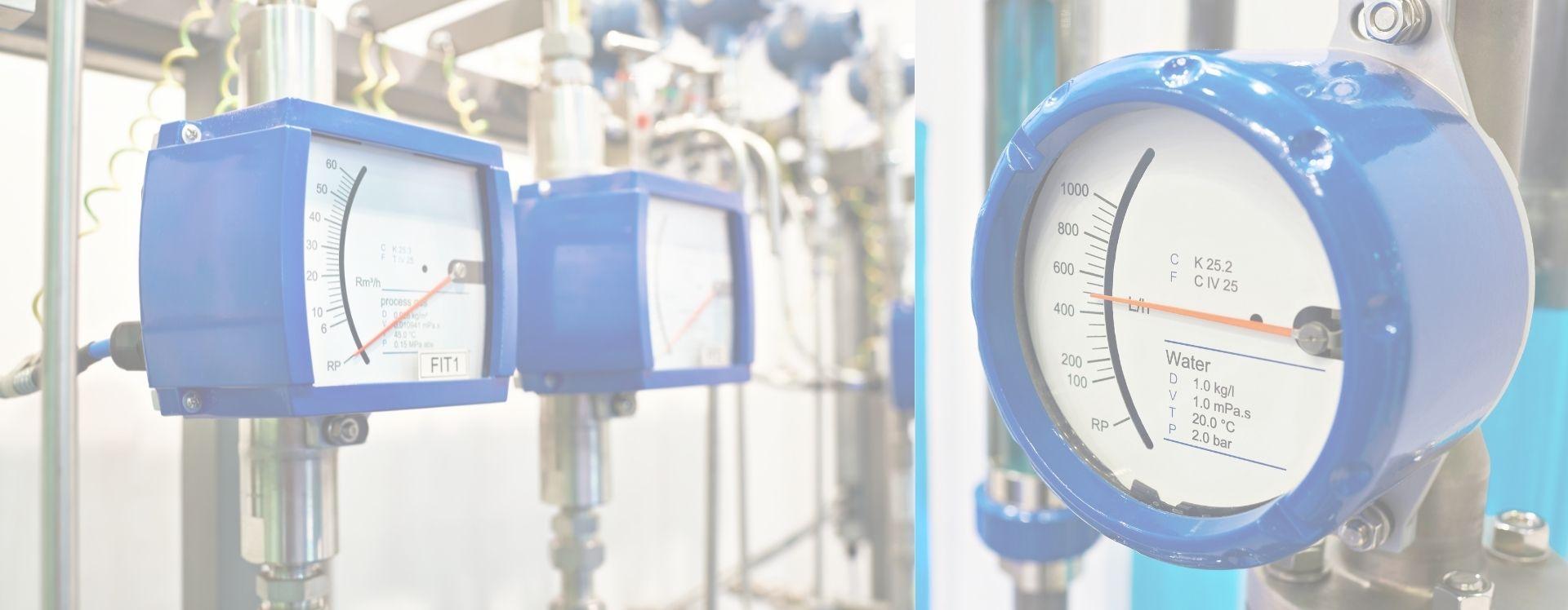 Banner-metal tube rotameter