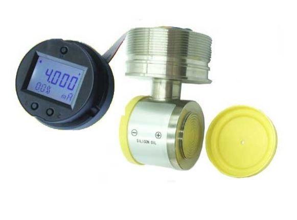 Digital silicon pressure sensor
