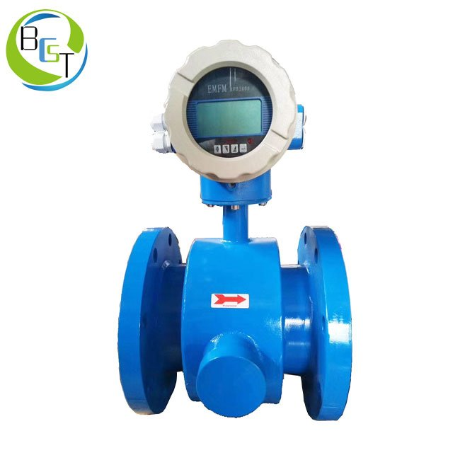 Electromagnetic-flowmeter-with-scraping-electrode