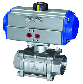 What is pneumatic onoff valve actuator