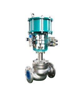 What is pneumatic piston onoff valve