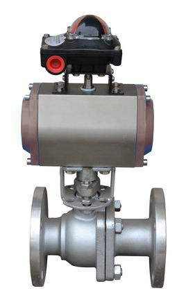 What is pneumatic onoff ball valve