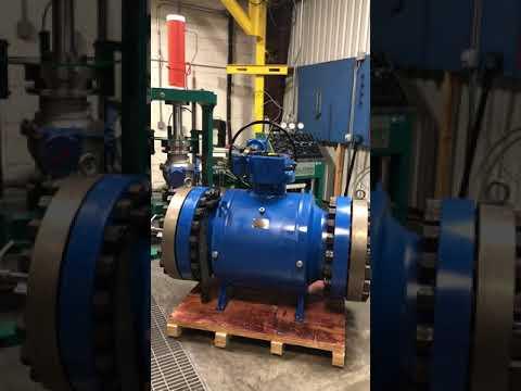 Hydrostatic Shell Tester