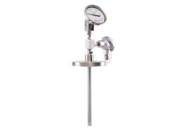 4-20ma output dual Industrial temperature gauge