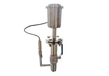 Insertion-electromagnetic-flowmeter