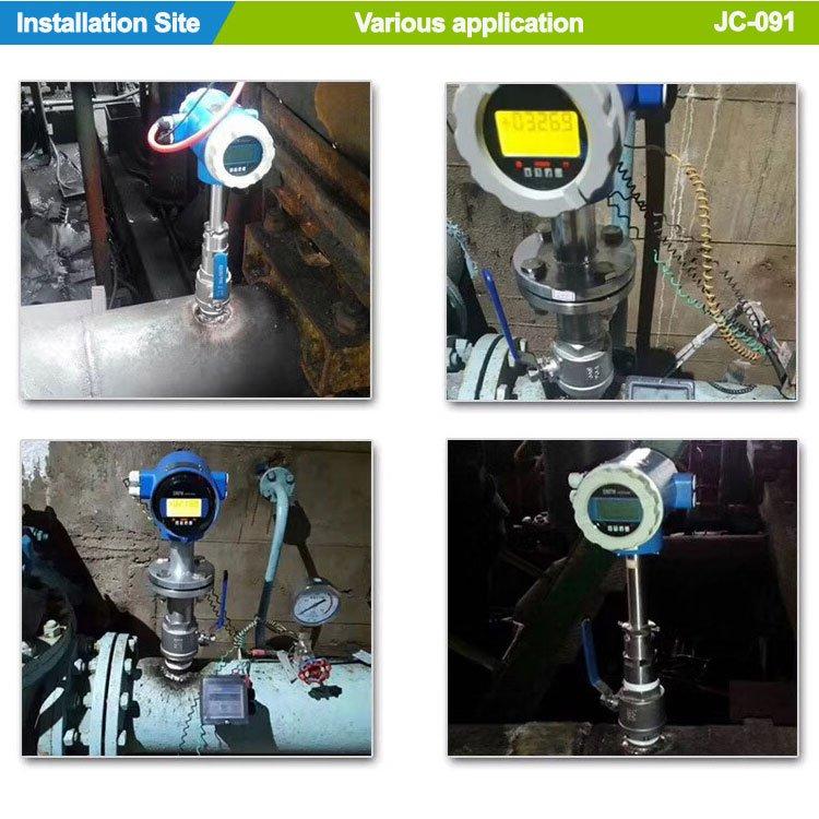 Installation-JC091 Compact Insertion Electromagnetic Flowmeter