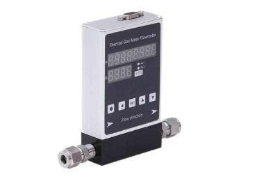 Micro thermal mass flowmeter