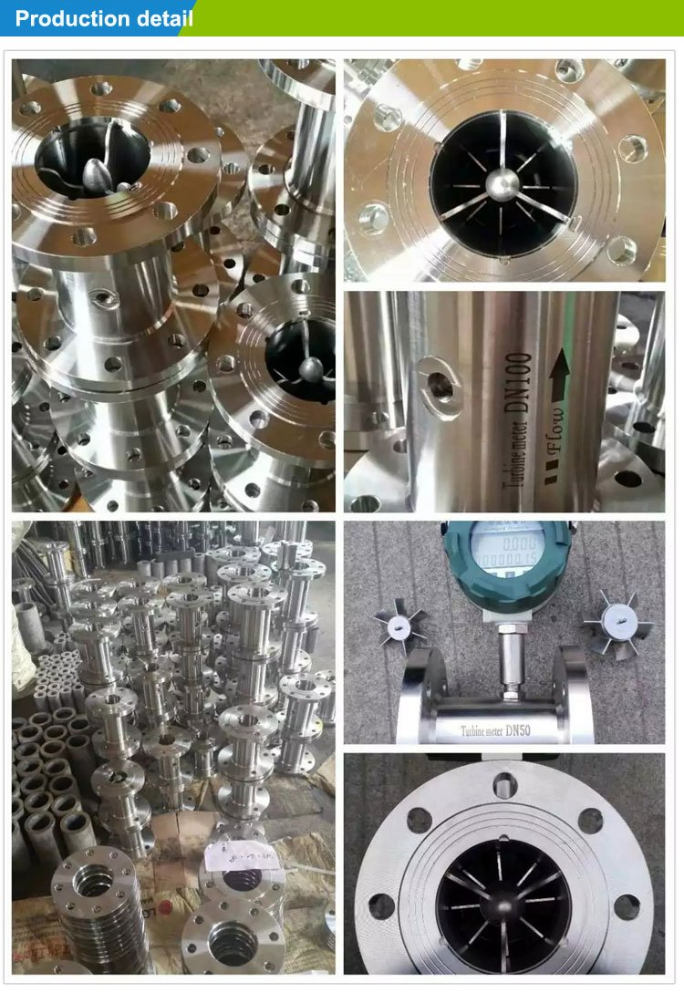 Product Detail-turbine flowmeter
